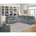 Parker Living Parthenon Power Reclining Living Room Group - Item Number: MPAR Living Room Group 3