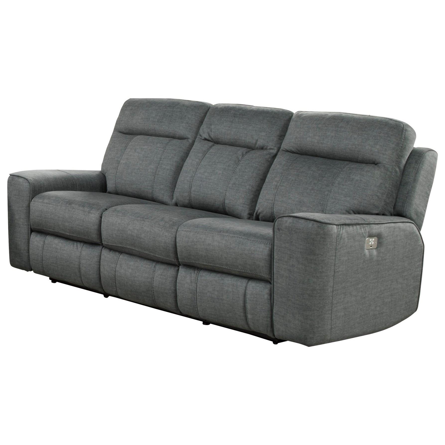 Power Dual Reclining Sofa w/ Power Headrest