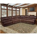 Parker Living Pegasus Power Reclining Sectional Sofa - Item Number: MPEG-PACKA-DK