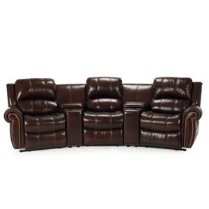 Parker Living Poseidon Transitional Reclining Sectional Sofa