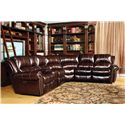 Parker Living Poseidon Transitional Power Reclining Sectional Sofa