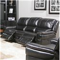 Parker Living Python Casual Duel Power Reclining Sofa  with Split Back