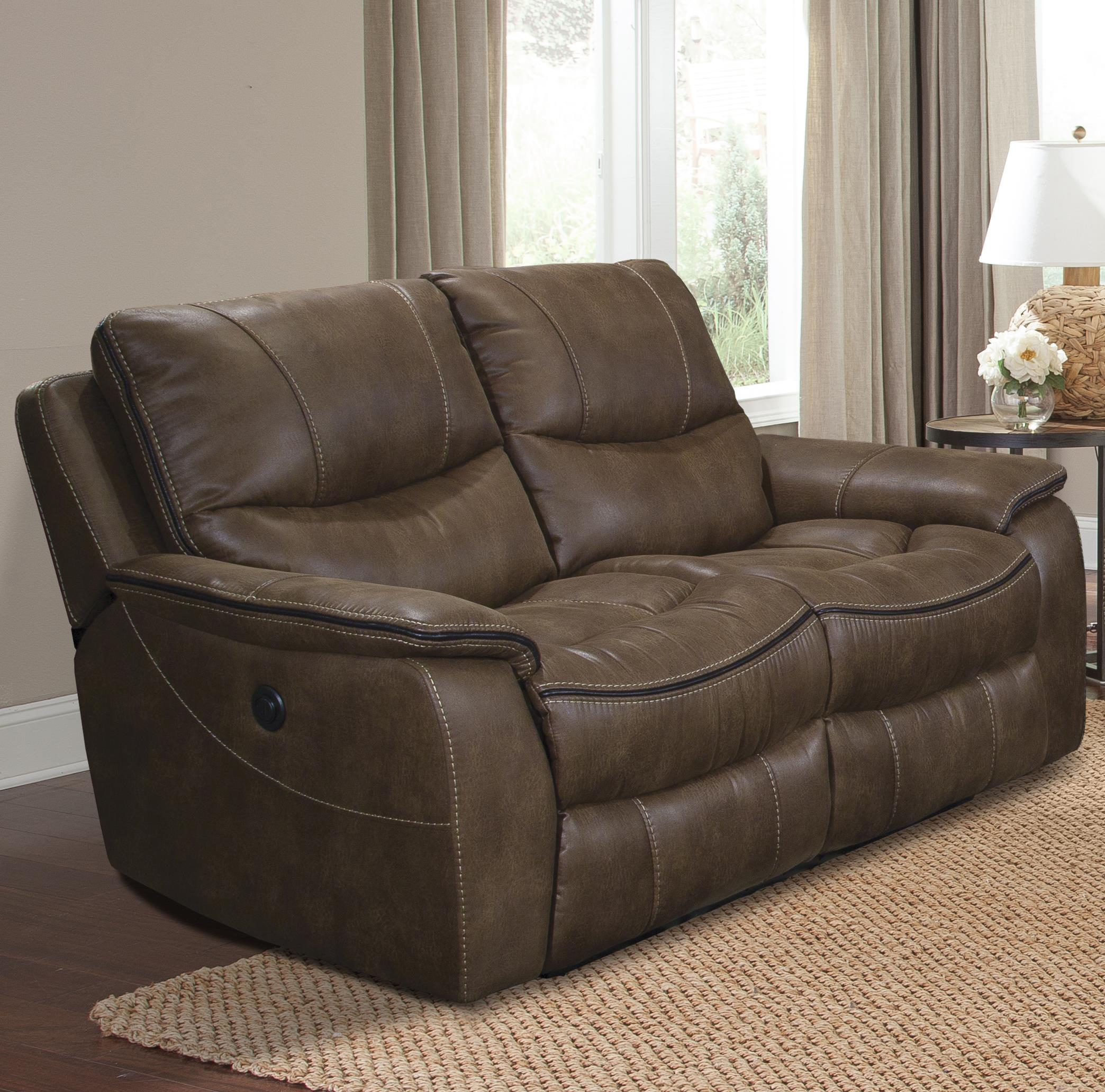 Parker Living Remus Casual Power Loveseat Dual Recliner - Item Number: MREM-822P-ST