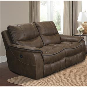 Parker Living Remus Casual Power Loveseat Dual Recliner