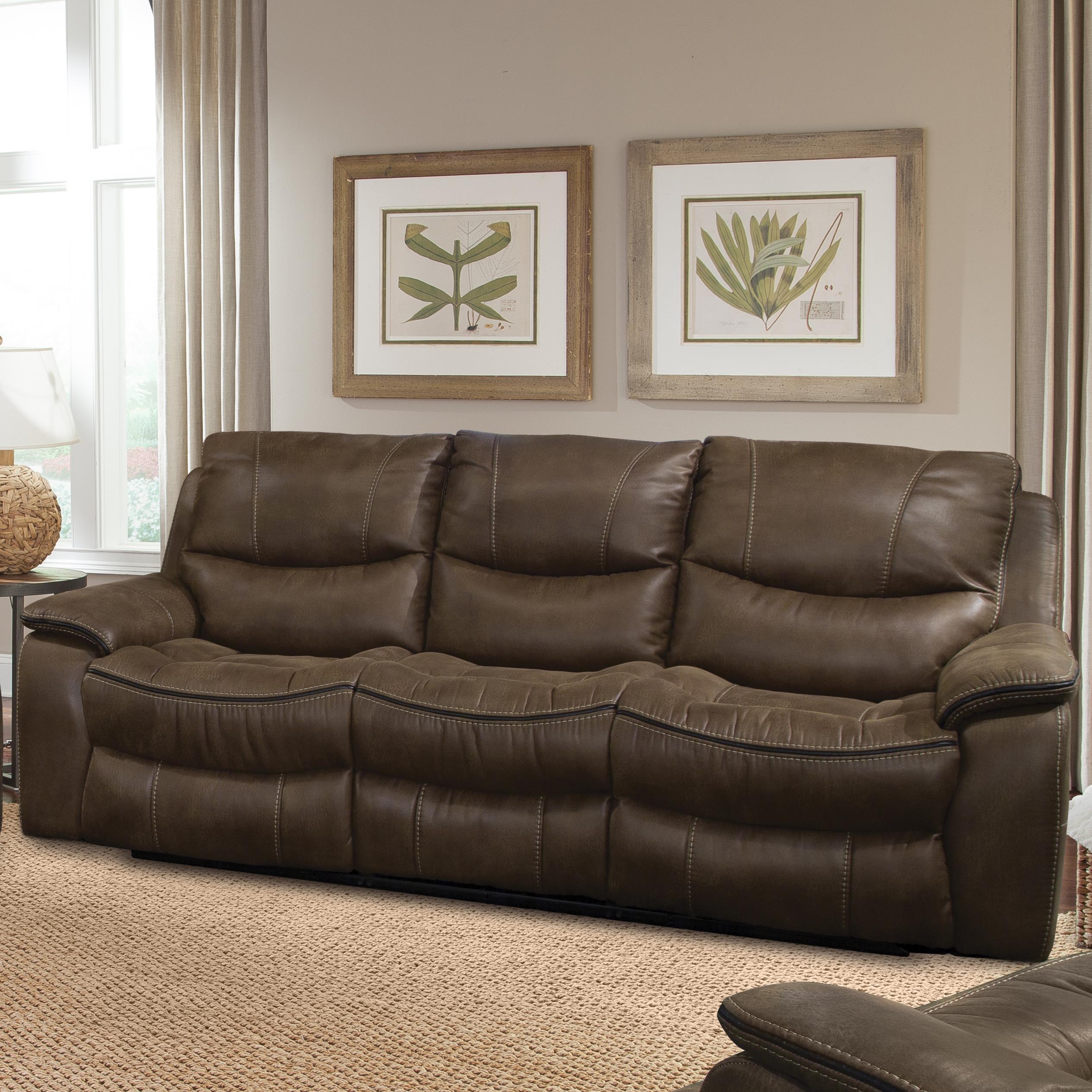 Parker Living Remus Casual Power Dual Recliner Sofa - Item Number: MREM-832P-ST