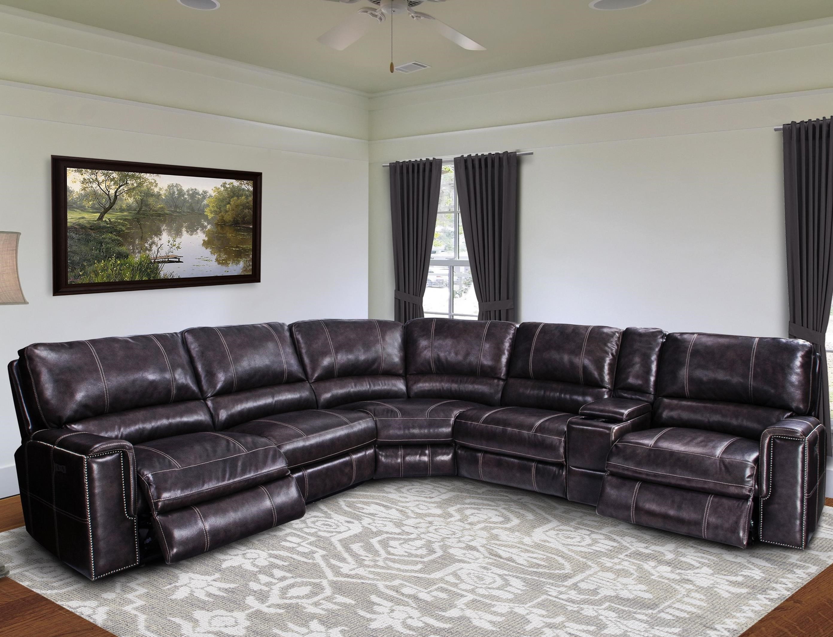 Jerome Casual Power Reclining Sectional Sofa With Power