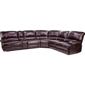 Parker Living Shaw Power Reclining Sectional Sofa