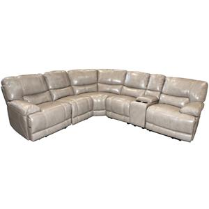 Parker Living Socrates Casual Sectional with Storage Console