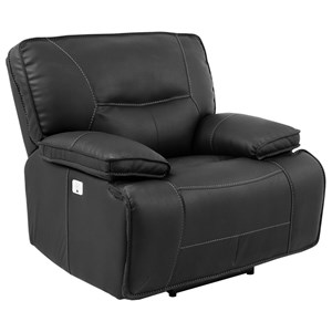 Power Recliner with USB and Power Headrest