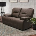 Parker Living Spartacus Power Dual Reclining Loveseat - Item Number: MSPA-822PH-CHO