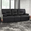 Parker Living Spartacus Power Dual Reclining Sofa - Item Number: MSPA-832PH-BLC