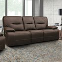 Parker Living Spartacus Power Dual Reclining Sofa - Item Number: MSPA-832PH-CHO