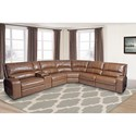 Parker Living Swift Power Reclining Sectional Sofa - Item Number: MSWI-PACKAH-BOU