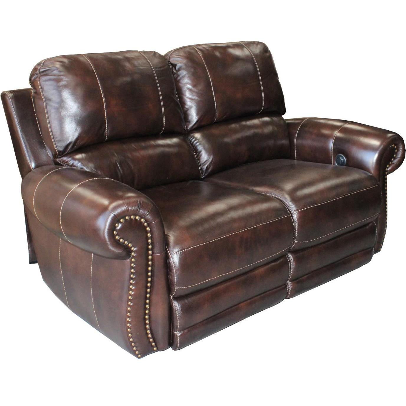 Traditional Power Reclining Love Seat