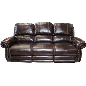 Traditional Power Reclining Sofa