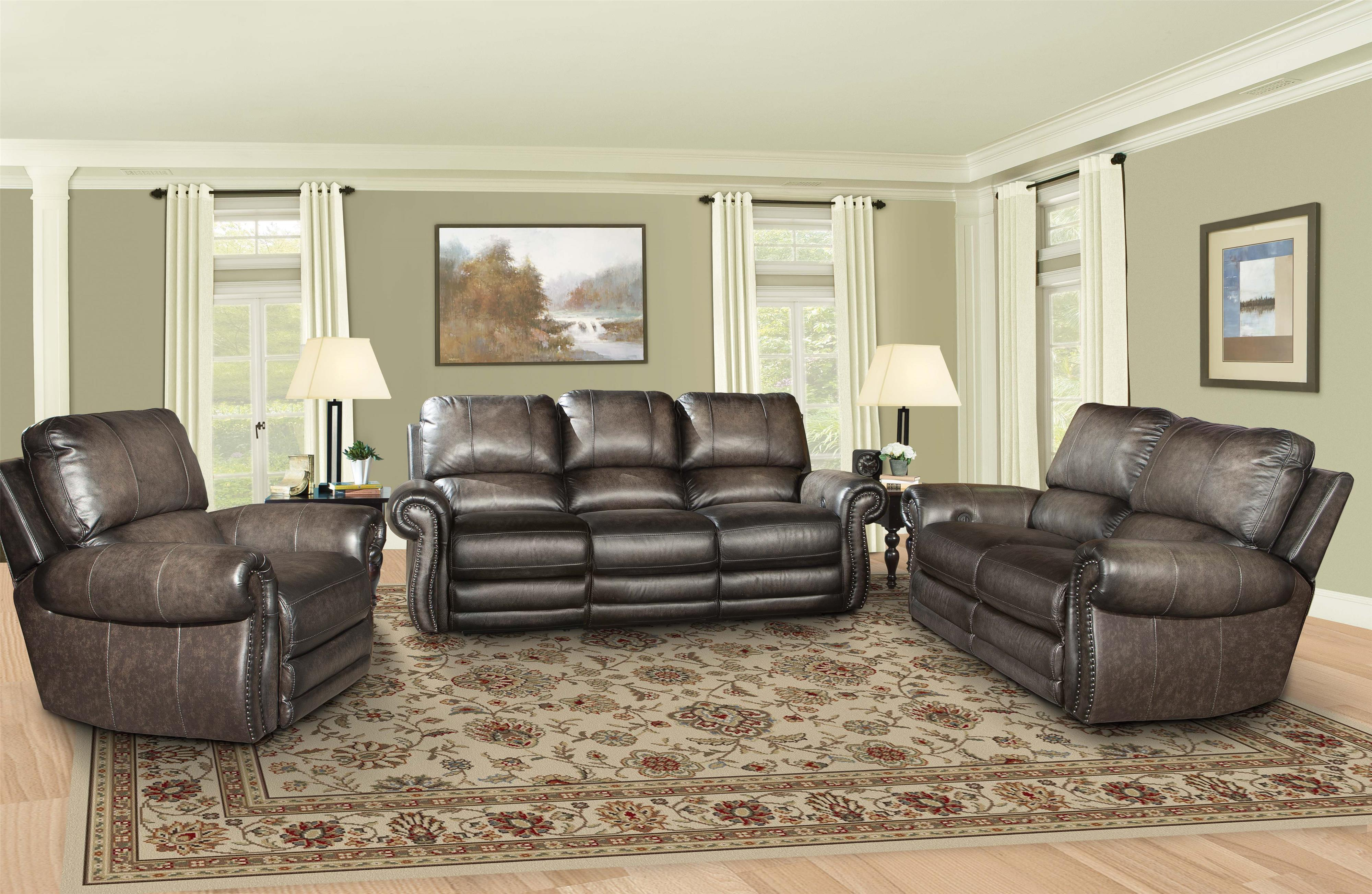 Traditional Reclining Living Room Group