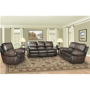 Parker Living Thurston Shadow Traditional Reclining Living Room Group