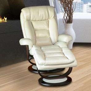 Parker Living Triton Swivel Recliner and Ottoman - Item Number: MTRI-212S-CR