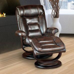 Parker Living Triton Swivel Recliner and Ottoman - Item Number: MTRI-212S-NU