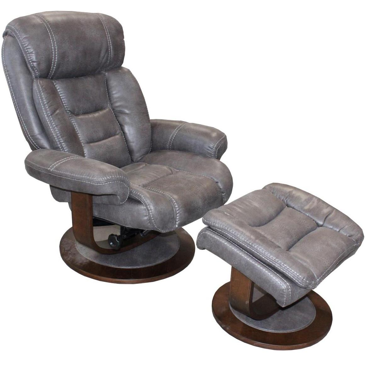 Parker Living Triton Swivel Recliner and Ottoman - Item Number: MTRI-212S-PL
