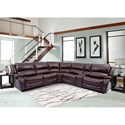 Parker Living Ulysses Sectional - Item Number: MULY-PACKA-H-CHE