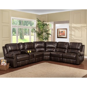 Parker Living Webber Sectional Sofa  sc 1 st  Old Brick Furniture & Leather and Faux Leather Furniture | Capital Region Albany ... islam-shia.org