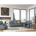 Paramount Living Whitman Reclining Living Room Group - Item Number: MWHI-VAZ Living Room Group
