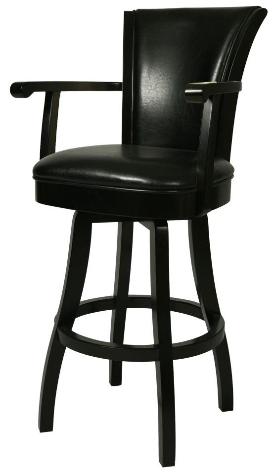 Pastel Minson Bar Stools Collection 30  Glenwood Bar Height Stool with Arms u0026 Black Leather - AHFA - Bar Stool Dealer Locator  sc 1 st  Furniture Dealer Locator - Find your furniture & Pastel Minson Bar Stools Collection 30