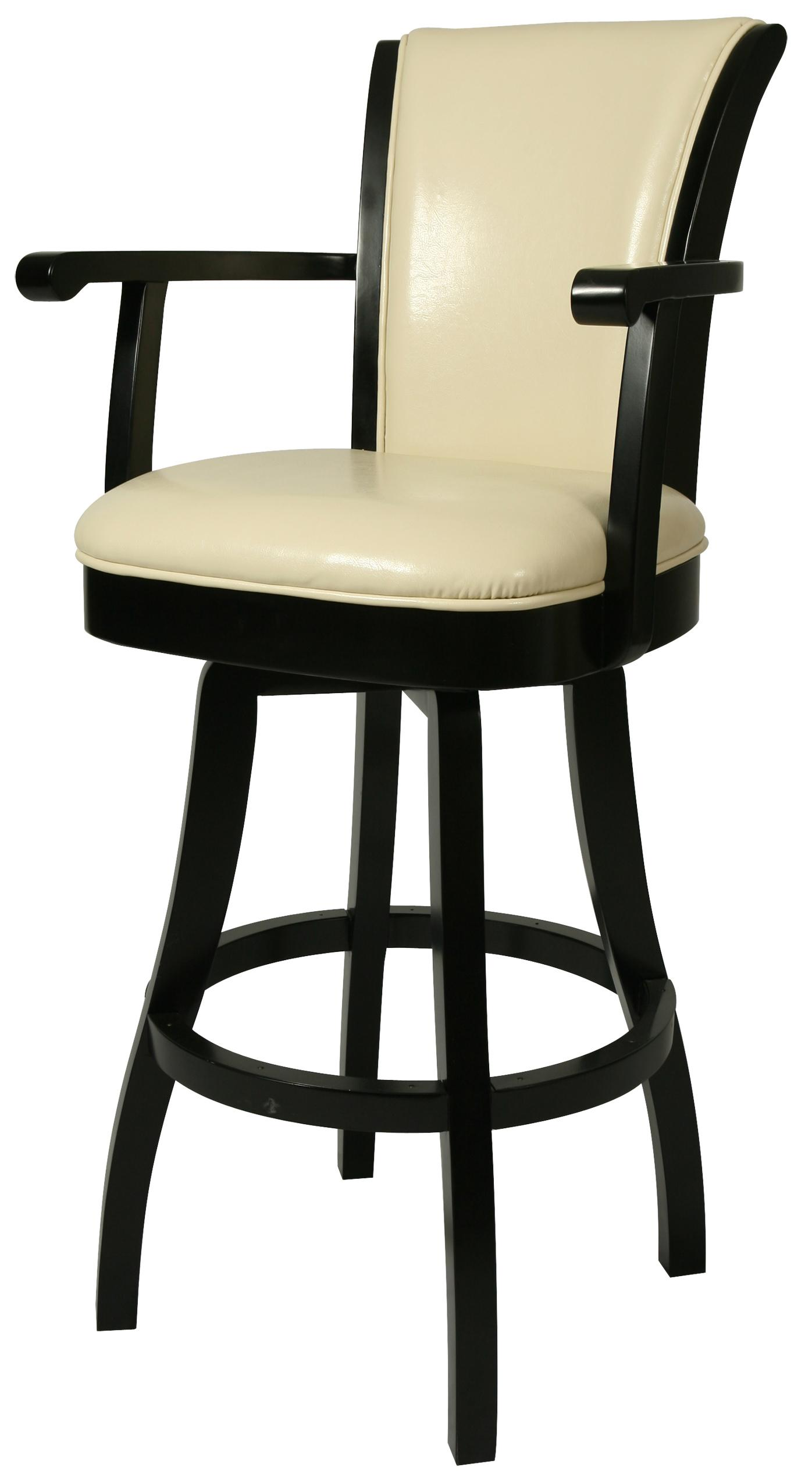 Pastel Minson Bar Stools Collection 26  Glenwood Counter Height Arm Stool - Item Number  sc 1 st  Boulevard Home Furnishings & Pastel Minson Bar Stools Collection 26