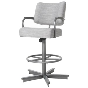 Victorine Swivel Tilt Counter Height Stool