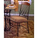 Pastel Minson Napa Ridge Upholstered Metal Side Chair - NR110-30