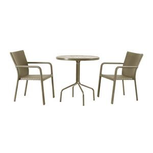 3 PC Bistro Set Canola Seed