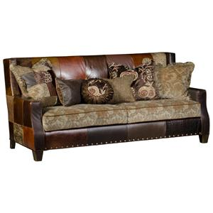 Cooper Contemporary Sofa with Traditional Styled Details by Paul Robert