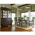 Paula Deen by Universal Paula Deen Home 9Pc Dining Room - Item Number: 932653 9pc