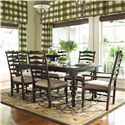 Paula Deen by Universal Paula Deen Home 7Pc Dining Room - Item Number: 932653-4x932634-2x932635
