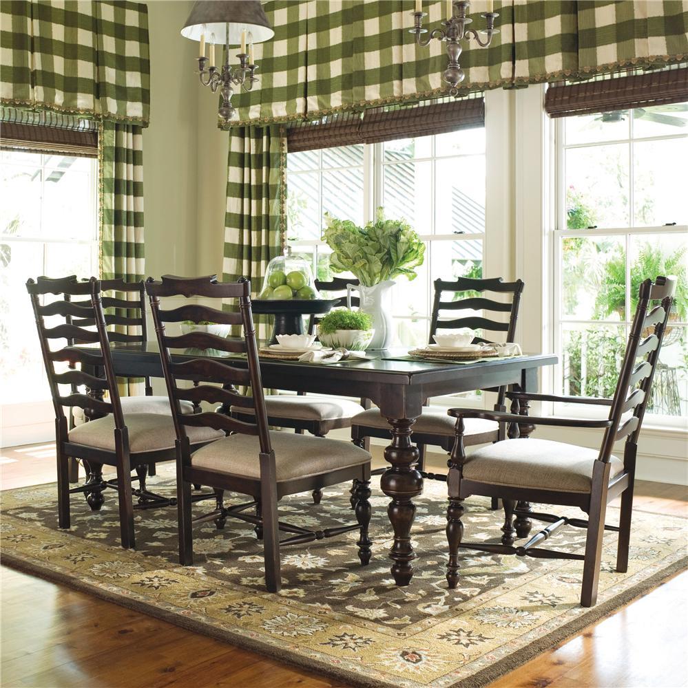 Paula Deen by Universal Paula Deen Home 5Pc Dining Room - Item Number: 932653-4x932634