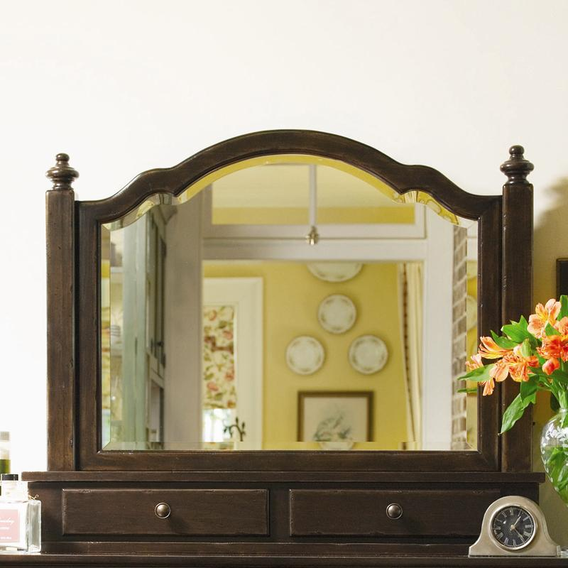 Paula Deen by Universal Paula Deen Home The Lady's Storage Mirror - Item Number: 93203M
