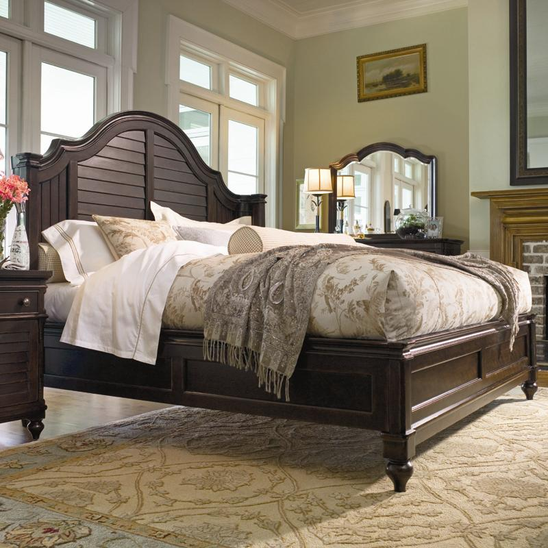 Paula deen by universal home 932220b king steel magnolia - Paula deen bedroom furniture collection ...