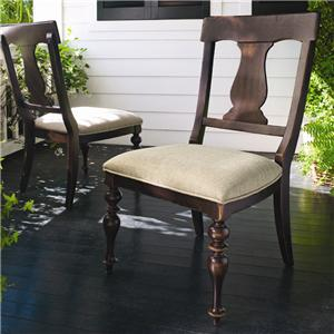 Morris Home Furnishings Paula Deen Home Paula's Dining Side Chair