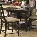 Universal Home Kitchen Gathering Table - Item Number: 932652-BASE+TAB