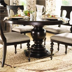 Paula Deen by Universal Home Round Pedestal Table