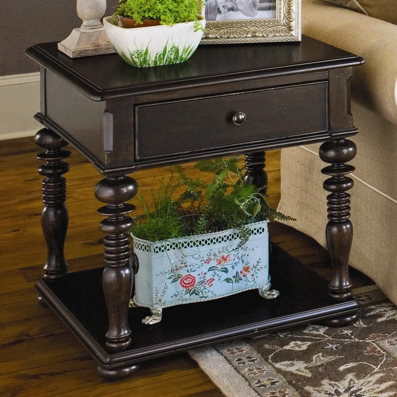 Paula Deen by Universal Paula Deen Home Rectangular End Table - Item Number: 932802