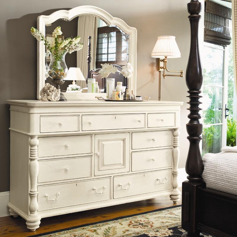 Paula Deen by Universal Paula Deen Home Door Dresser & Decorative Mirror - Item Number: 996040+99605M