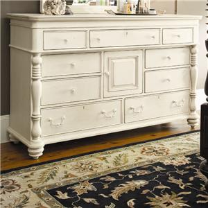 Morris Home Furnishings Pinehurst Door Dresser