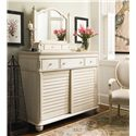 Paula Deen by Universal Paula Deen Home The Lady's Dresser & Storage Mirror - Item Number: 996180+99603M