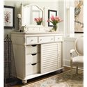 Paula Deen by Universal Paula Deen Home The Lady's Dresser & Storage Mirror