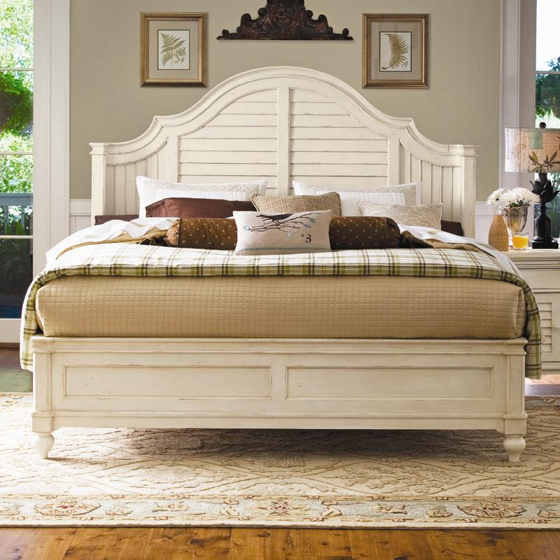 Paula Deen by Universal Paula Deen Home California King Steel Magnolia Bed - Item Number: 996230+23F+23R