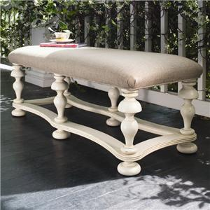 Morris Home Pinehurst Bed End Bench