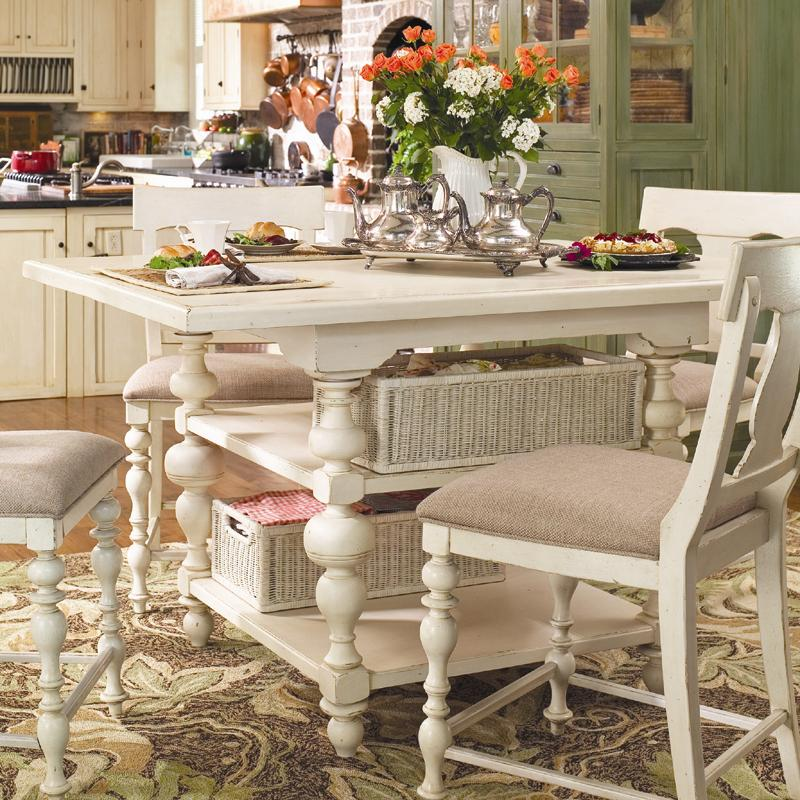 Paula Deen by Universal Paula Deen Home Kitchen Gathering Table - Item Number 996652- : gathering table sets - pezcame.com
