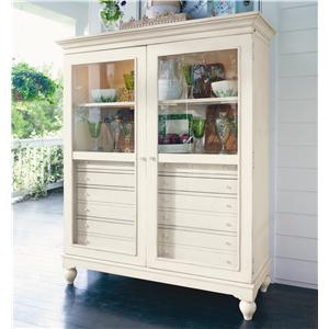 Morris Home Furnishings Pinehurst The Bag Lady's Cabinet